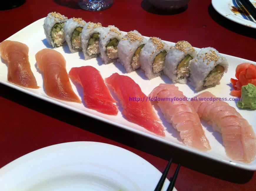 Izumi - favorite tuna sushi combo