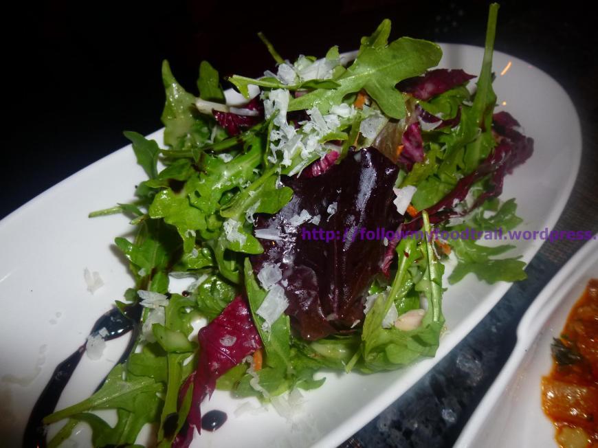VB - Arugula & Raddichio Salad