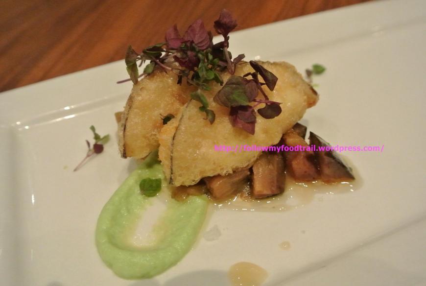 dtf - Crispy Eggplant Wontons