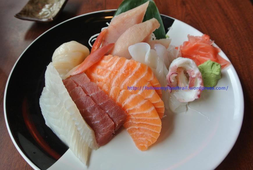 Tenshi - Assorted Sashimi