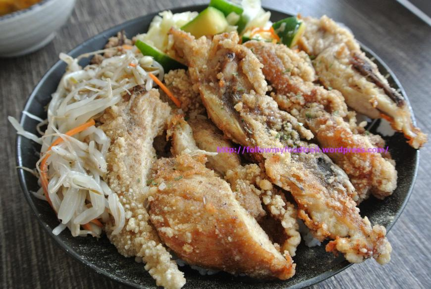 OCup - Fried Crispy Chicken with Rice